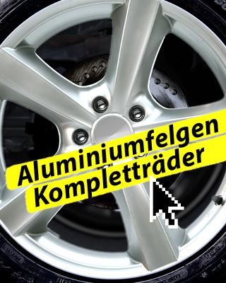 Aluminiumfelgen Kompletträder!